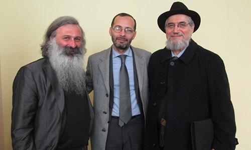 Incontro interreligioso con il Rabbino Capo di Firenze e l'Imam di Firenze